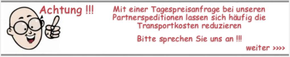 Transportkosten Anfrage