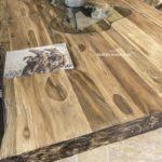 Echtholztisch aus Teak