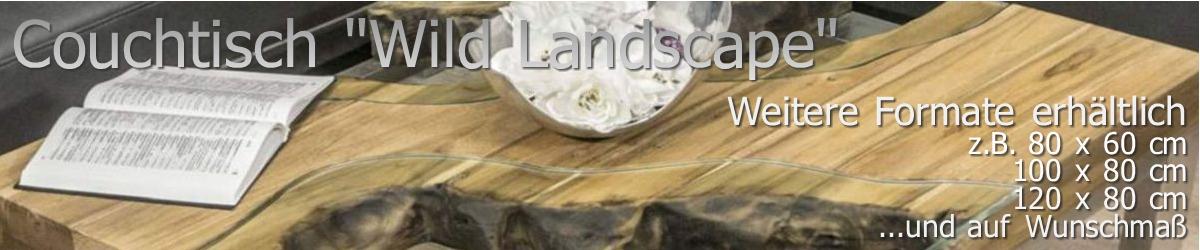 Couchtisch Wild Landscape aus Holz