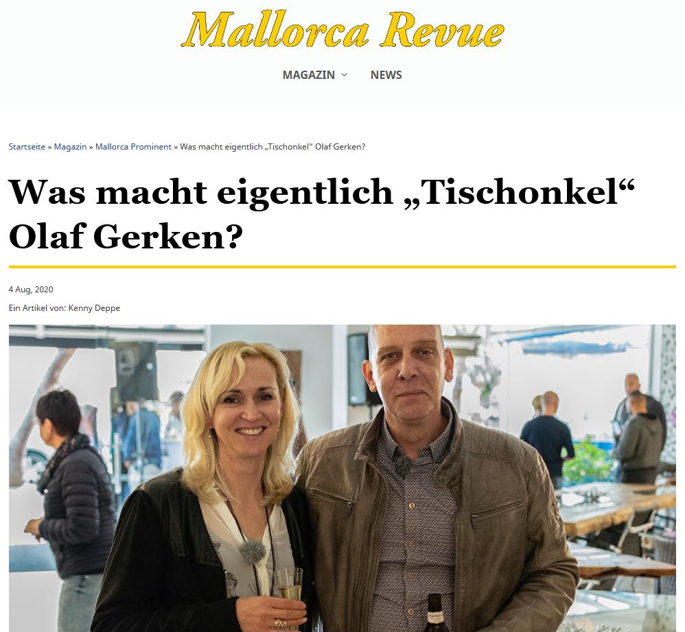 Olaf Gerken Olena Gerken Mallorca Revue