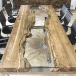 Esszimmertisch aus Holz als Maßtisch bestellen