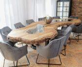 """Konferenztisch aus Holz von """"GERKEN Wohndesign"""""""