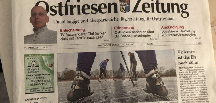 Ostfriesen-Zeitung :: Olaf Wilhelm und Olena Gerken ziehen nach Leer