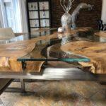 Esszimmertisch aus Holz Expression
