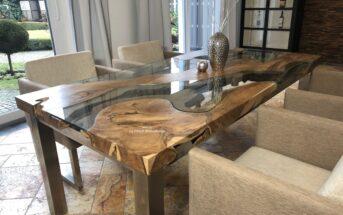 Esstisch aus Holz Expression
