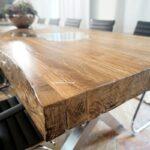 Massive Tischplatte für Konferenztisch