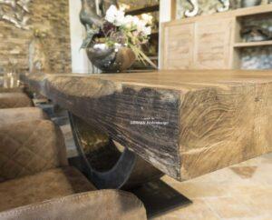 Massivholztisch Tischplatte 10 cm
