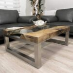 Wohnzimmertisch aus Holz