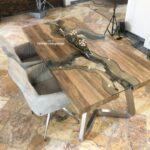 Design Esstische aus Holz