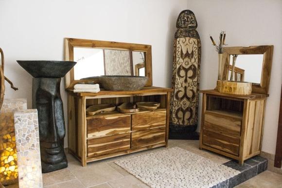 der tischonkel massive badm bel aus teakholz. Black Bedroom Furniture Sets. Home Design Ideas