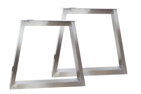 der tischonkel tischbeine aus edelstahl geb rstet. Black Bedroom Furniture Sets. Home Design Ideas
