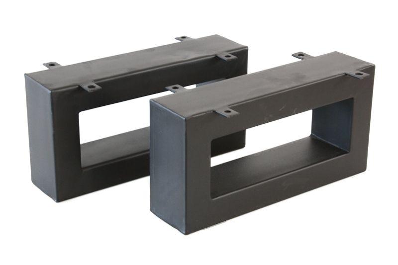 der tischonkel tischbeine aus rohstahl schwarz f r couchtische 20 x 40 cm. Black Bedroom Furniture Sets. Home Design Ideas
