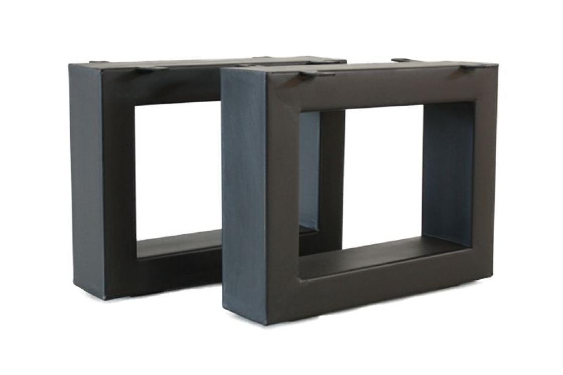 Der Tischonkel Tischbeine Aus Stahl Fur Couchtische 30 X 40 Cm