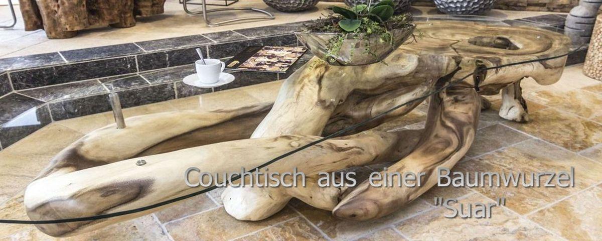 Der Tischonkel Couchtische Aus Einer Baumwurzel
